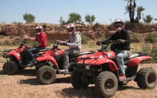 Half day in Marrakech for Quad & Buggy tours